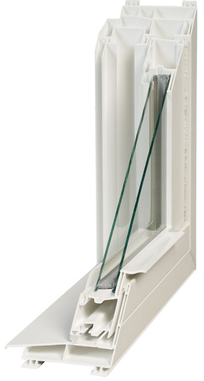 Cut-A-Way View | Double Pane Insulated Glass