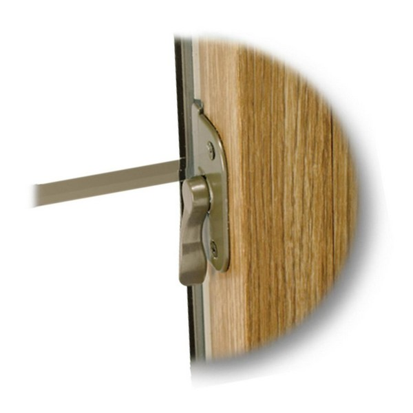 Recessed Lock | Light Oak Finish