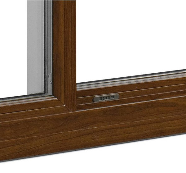Interior View | Cherry Finish | Ventilation Latch