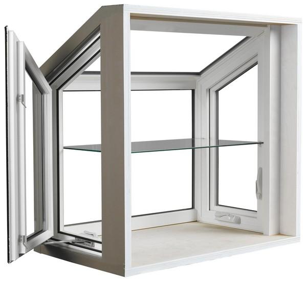 Interior View | White | Garden Window